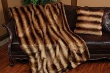 Fur Throws & Pillows