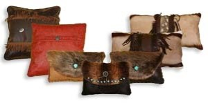 Fur & Leather Pillows