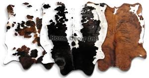 Cowhide Accent Pieces
