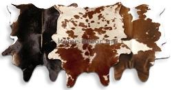 Brown & White Cowhides