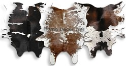 One-of-a-kind Cowhides