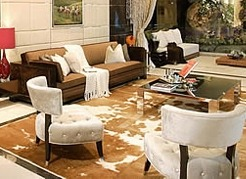 Custom Made Cowhide Rugs Any Size or Style
