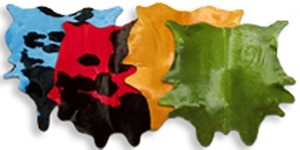 Dyed Cowhides