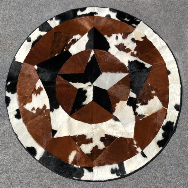 laced cowhide