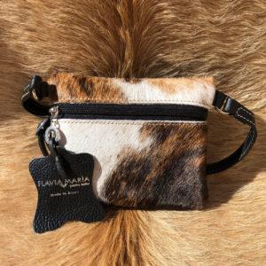 cowhide purse