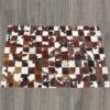 custom patchwork cowhide rug